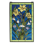 Meyda Tiffany Spring Bouquet Stained Glass Window