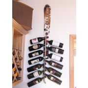 Ski Chair Snow 13 Bottle Wall Mounted Wine Rack