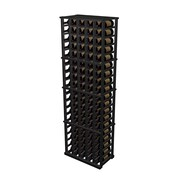 Wine Cellar Designer Series 100 Bottle Wine Rack; Dark Stained Premium Redwood