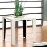 Hokku Designs Zedd End Table; White