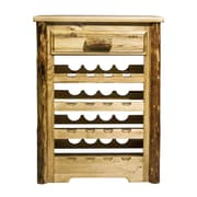 Montana Woodworks  Glacier Country 16 Bottle Wine Rack