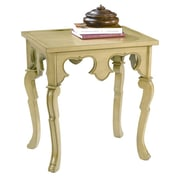 HeatherBrooke Pistachio Pudding End Table