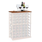 Wine Enthusiast Companies N'finity Wine Rack Tabletop; Dark Walnut