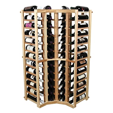 Wine Cellar Vintner 52 Bottle Floor Wine Rack; Unfinished