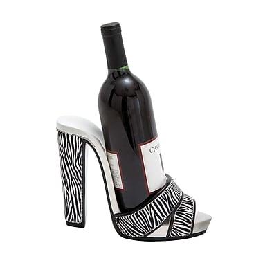Woodland Imports Shoe 1 Bottle Tabletop Wine Rack