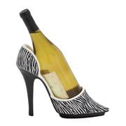Woodland Imports 1 Bottle Tabletop Shoe Wine Holder