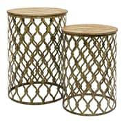 IMAX Maridell 2 Piece Nesting Tables