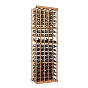 Wine Enthusiast Companies N'finity 90 Bottle Floor Wine Rack; Natural