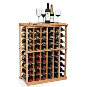 Wine Enthusiast Companies N'finity 54 Bottle Floor Wine Rack; Natural