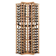 Wine Enthusiast Companies N'finity 72 Bottle Floor Wine Rack; Natural