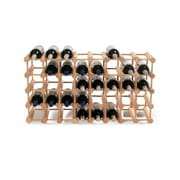 Wine Enthusiast Companies 40 Bottle Wine Rack; Natural