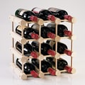 Wine Enthusiast Companies 12 Bottle Wine Rack; Natural