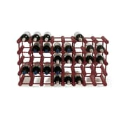 Wine Enthusiast Companies 40 Bottle Wine Rack; Mahogany