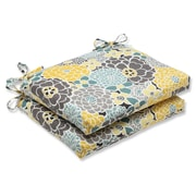 Pillow Perfect Full Bloom Outdoor Dining Chair Cushion (Set of 2)