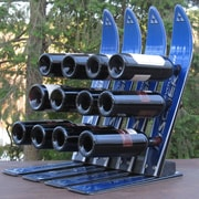 Ski Chair Snow 12 Bottle Tabletop Wine Rack