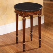 Accent Treasures End Table; Burl