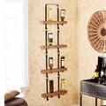 Wildon Home   Hadley 16 Wine Bottle Wall Mount Wine Rack