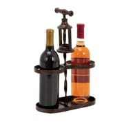 Woodland Imports 2 Bottle Tabletop Wine Rack
