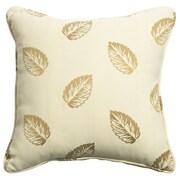 Mastercraft Fabrics Outdoor/Indoor Vibrant Falling Leaf Pear Pillow