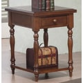 Winners Only, Inc. Quails Run End Table; Derby Brown