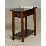 Wildon Home   Chairside Table; Walnut