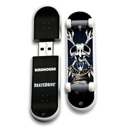 EP Memory Birdhouse/Tony Hawk Skatedrive 8GB USB 2.0 Flash Drive, Crossbones Blue