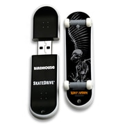 EP Memory Birdhouse/Tony Hawk Skatedrive 8GB USB 2.0 Flash Drive, Full Skull