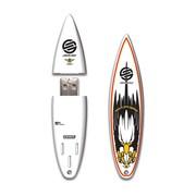 EP Memory SurfDrive Santa Cruz Archbold 2012 SCSURFAR 8GB USB 2.0 Flash Drive, Multicolor