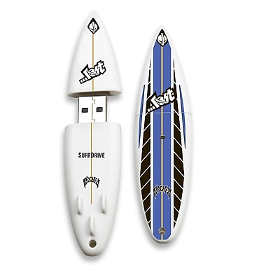 EP Memory Lost Surfdrive Surfdrive 8GB USB 2.0 Flash Drive, Blunt