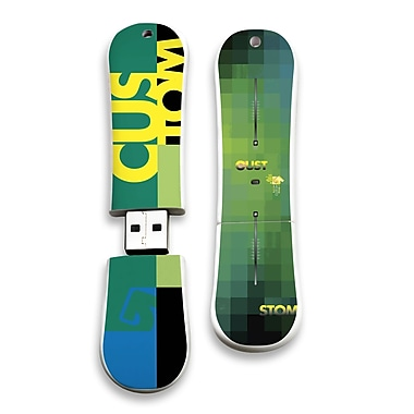 EP Memory Burton SnowDrive Custom X 11 BURT-CX11/16G USB 2.0 Flash Drive, Multicolor