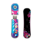 EP Memory Burton SnowDrive Feather 12 SnowDrive BURT-FEA12/16GB USB 2.0 Flash Drive, Multicolor