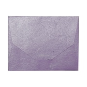 JAM Paper® Purple Large Paper Booklet Envelopes 10 x 13, Sold Individually
