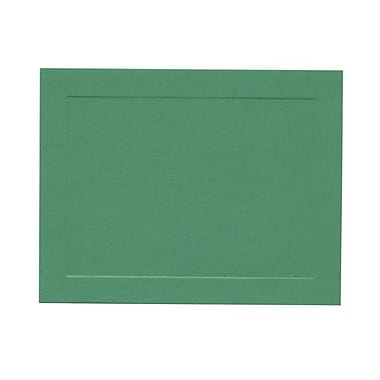 JAM Paper Green Panal Blank Note Cards 4.25in. x 5.5in.