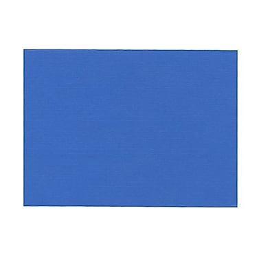JAM Paper® Blank Note Cards, A6 size, 4 5/8 x 6 1/4, Blue Linen, 500/box (0175988B)