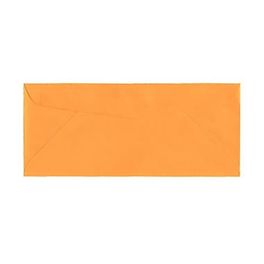 JAM Paper® #10 Business Envelopes, 4 1/8 x 9.5, Brite Hue Ultra Orange, 100/Pack (80401g)