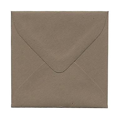 JAM PaperMD – Enveloppes recyclées Simpson en kraft, 3 1/10 x 3 1/10 po, 100/paquet