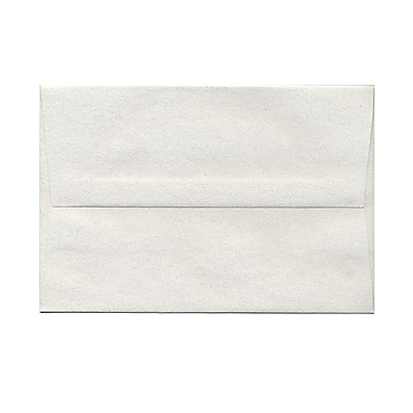 JAM Paper® A8 Invitation Envelopes, 5.5 x 8.125, Pumice White Recycled, 100/Pack (83488g)