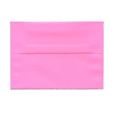 JAM Paper® A7 Invitation Envelopes, 5.25 x 7.25, Brite Hue Ultra Pink, 1000/Pack (96268B)