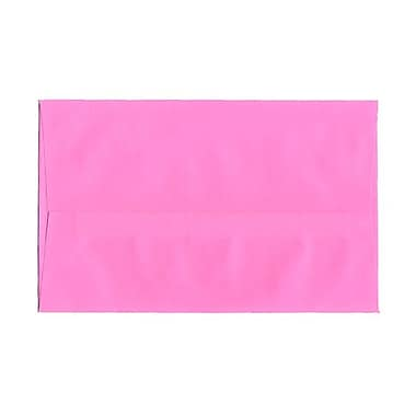JAM Paper® A10 Invitation Envelopes, 6 x 9.5, Brite Hue Ultra Pink, 25/pack (96292)