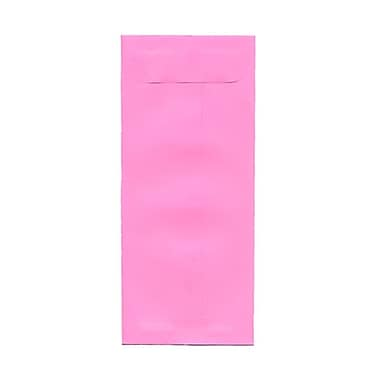 JAM Paper® #10 Policy Envelopes, 4 1/8 x 9.5, Brite Hue Ultra Pink, 100/Pack (15869g)