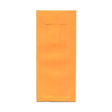 JAM Paper® #10 Policy Envelopes, 4 1/8 x 9.5, Brite Hue Ultra Orange, 100/Pack (15867g)