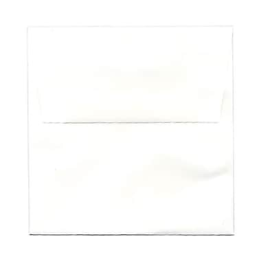 JAM Paper® 5.5 x 5.5 Square Envelopes, Strathmore Bright White Wove, 1000/Pack (2792259C)