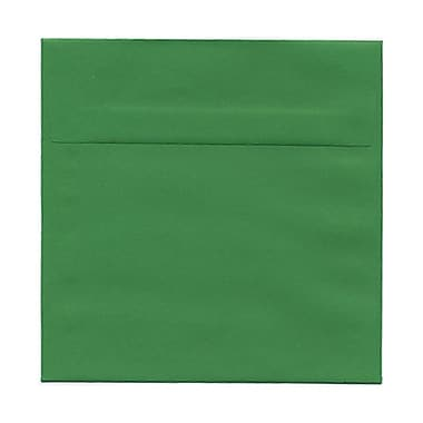 JAM Paper® 6.5 x 6.5 Square Envelopes, Brite Hue Green Recycled, 100/Pack (02792279B)