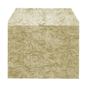JAM Paper® Gold Marble Cello Sleeve Envelopes 4.25 x 5.68, 100/Pack