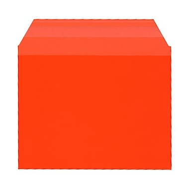 JAM Paper® Cello Sleeves, A2, 4.25 x 5 11/16, Orange, 100/Pack (45S0R1)