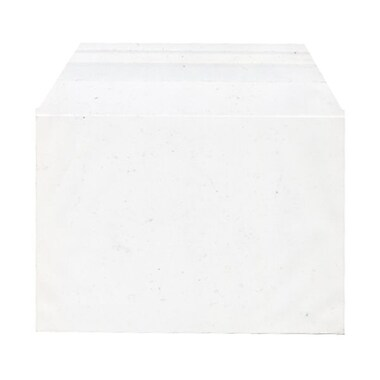 JAM Paper® Cello Sleeves, A2, 4.25 x 5 11/16, White, 100/Pack (45SFT1)
