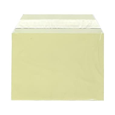 JAM Paper® Cello Sleeves, A6, 4.63 x 6 7/16, Yellow, 1000/Pack (02784900B)