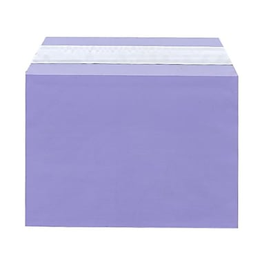 JAM Paper® Cello Sleeves, A7, 5 1/16 x 7 3/16, Purple, 1000/Pack (02785510B)