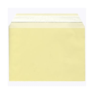 JAM Paper® Cello Sleeves, A7, 5 1/16 x 7 3/16, Yellow, 1000/Pack (02783139B)