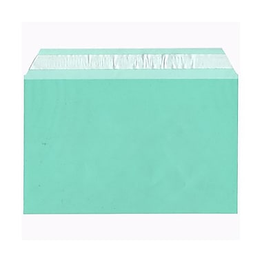 JAM Paper® Cello Sleeves, A9, 5 7/16 x 8.63, Green, 100/Pack (2783141)